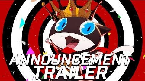 Persona 5 Dancing in Starlight Announcement Trailer