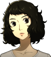 P5 portrait of Sadayo's gym outfit