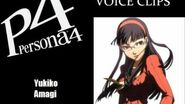Persona 4 Yukiko Amagi Voice Clips
