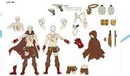 Concept sprite of Akihiko