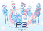 PERSONA3 THE MOVIE Finale Event visual art