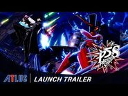 Persona 5 Strikers – Launch Trailer - PlayStation 4, Nintendo Switch, PC