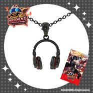 Persona 5 Dancing in Starlight Headphone Pendant
