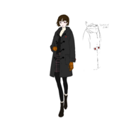 P5R ConceptArt Makoto1