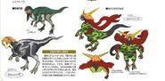 Yosukesaurus Concept Art