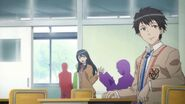 Itsuki Aoi in Shin Megami Tensei x Fire Emblem anime cutscene