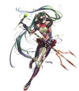 Kiria Fire Emblem Heroes Damaged artwork