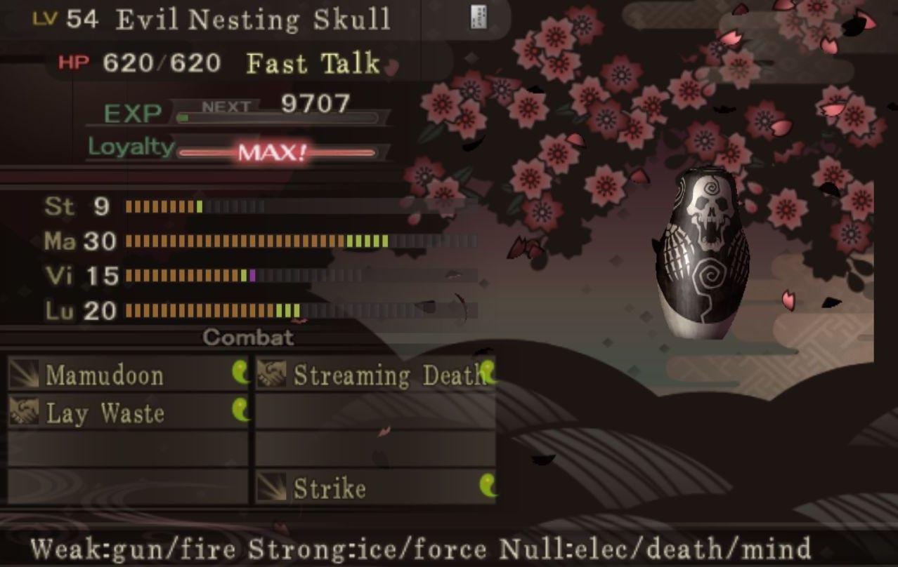 Nesting Skull