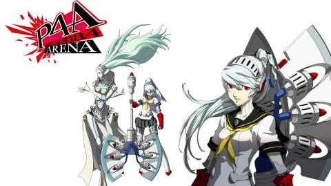 Persona 4 Arena - Labrys Voice Clips Japanese - Japones