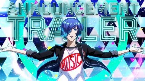 Persona 3 Dancing in Moonlight Announcement Trailer