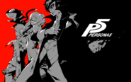 P5 illustration by Shigenori Soejima