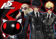 P5 Persona 4 Arena Ultimax Costumes DLC