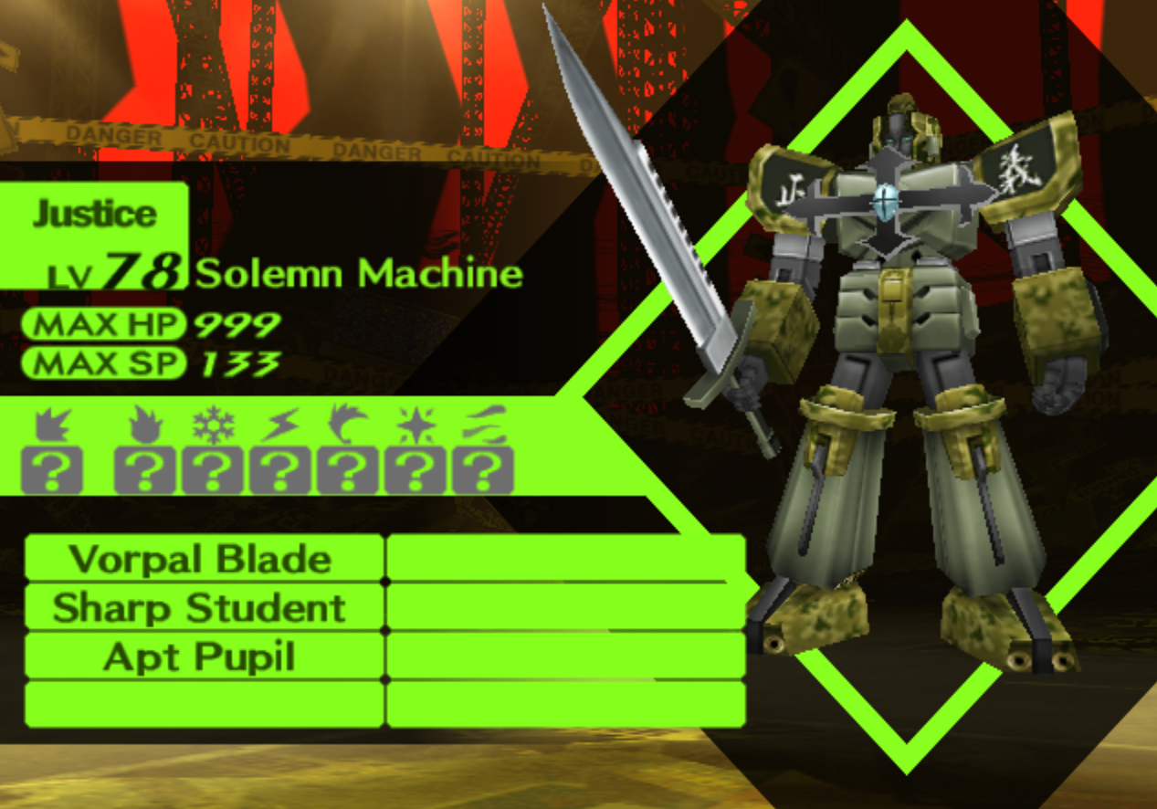 Solemn Machine