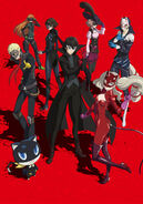 P5A Second Cour Key Visual