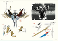 Yaldabaoth & Weapons Concept Art P5