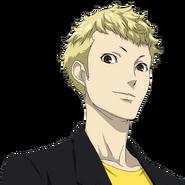 P5 animated expression of Ryuji Sakamoto 01