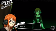 Futaba talking to her shadow self