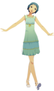 P3D Fuuka Yamagishi Summer Outfit