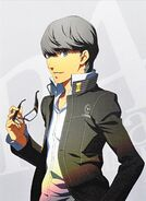P4A Yu Narukami Volume 10 Illustration cover