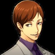 P5 Portrait of Sugimura Smiling