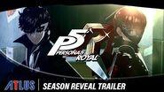 Persona 5 Royal Season Reveal Trailer
