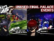Unused final palace events - Persona 5 Royal
