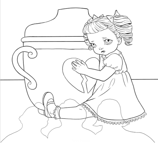 Cry Baby Coloring Book Melanie Martinez Fanon Wiki Fandom