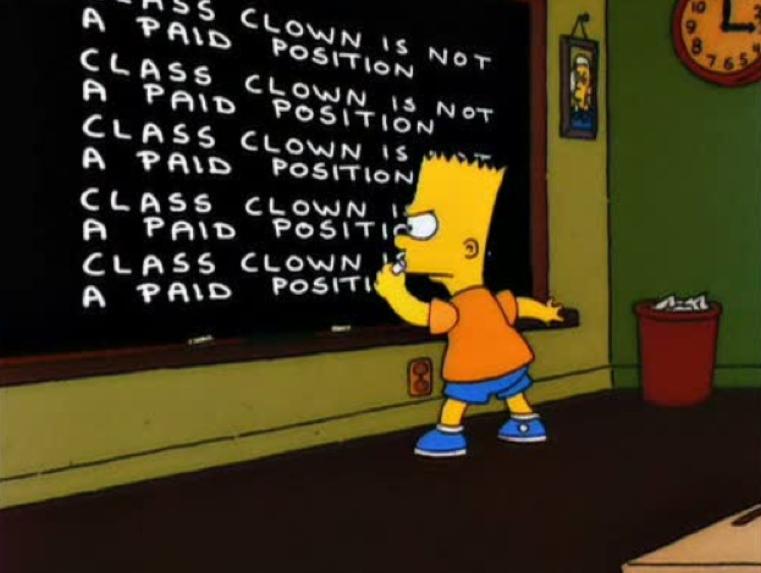 Class Clown.