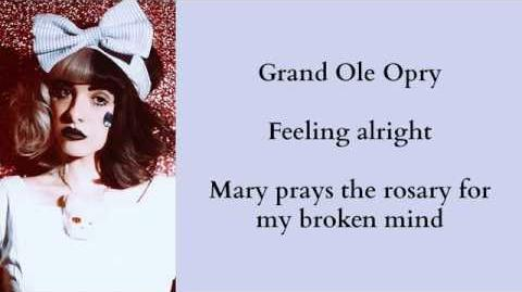 Melanie Martinez - Body Electric (Lana Del Rey Cover) Lyrics