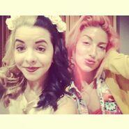 Melanie and Neon