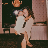 Baby mel and her mom