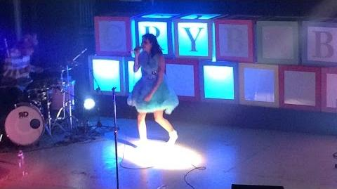 Melanie Martinez - Cake LIVE (10 7 15)