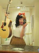 Melanies crazzy guitar