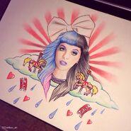 Melanie martinez carousel drawing by danikas art26-d86xiqv