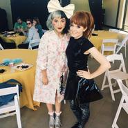 Melanie Martinez and Lindsey Stirling