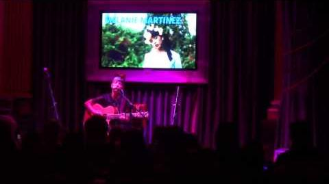Melanie Martinez 8 14 13 (( Hard Rock Cafe )) Night Mime original *new song*