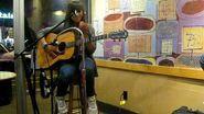 Mel singing Smoke