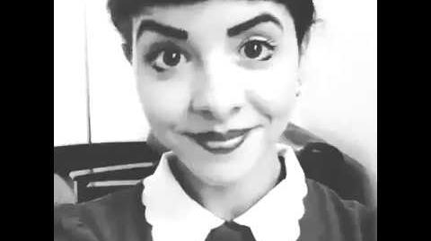 Melanie Martinez - Can't Shake You (Back-up Vocals Recording)