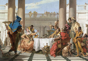 Giambattista Tiepolo - The Banquet of Cleopatra - Google Art Project