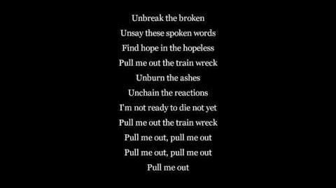 James Arthur - Train Wreck - LYRICS