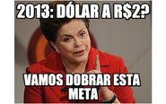 Dilma e a meta do dólar