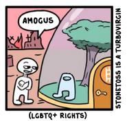 Amogus Stonetoss (Original)