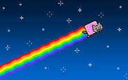 The nyan cat by sonyrootkit-d4yjoi2