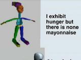 F i n d the mayonnaise