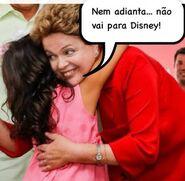 Dilma destruida