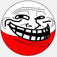 Poland Trollface