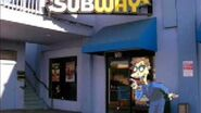Drew Pickles goes to Subway