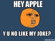 Y u no orange