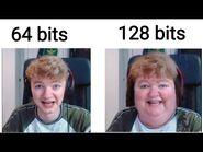 1 bit 2 bits 4 bits 8 bits 16 bits 32 bits 64 bits 128 bits (TommyInnit)