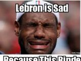 Lebron is sad
